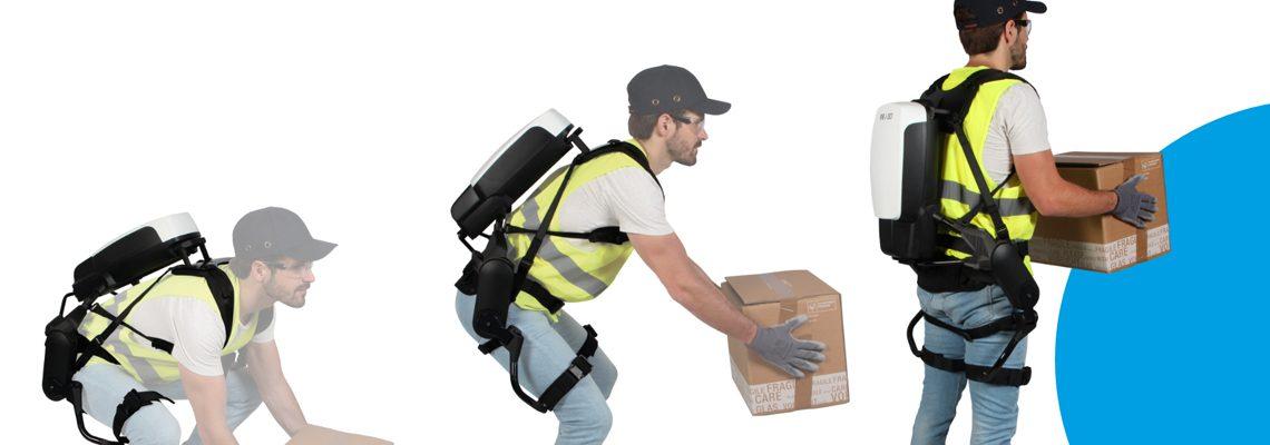 Les avantages de l'utilisation des exosquelettes d'aide à la manutention